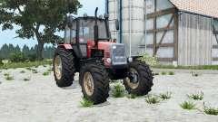 MTZ-1221 Belarús suave de color rojo para Farming Simulator 2015