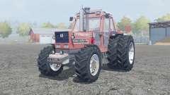 Fiat 180-90 Turbo DT dual rear wheels para Farming Simulator 2013