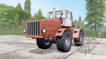 Kirovets K-700 moderadamente color rojo para Farming Simulator 2017