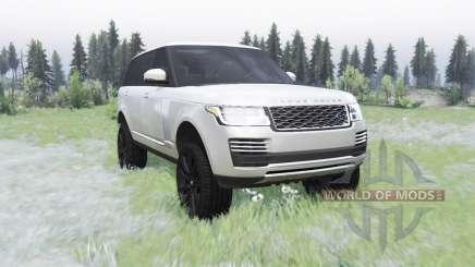 Land Rover Range Rover SVA LWB (L405) 2017 para Spin Tires