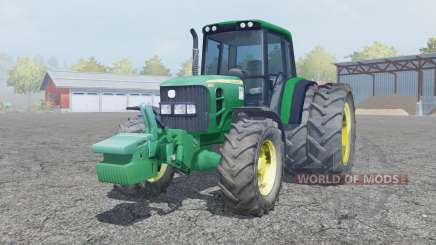 John Deere 6930 dual rear wheels para Farming Simulator 2013