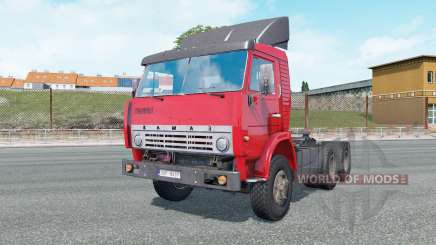 KamAZ-5410 de color rojo brillante para Euro Truck Simulator 2