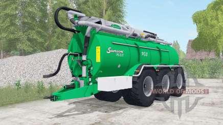 Samson PG II 27 caribbean green para Farming Simulator 2017