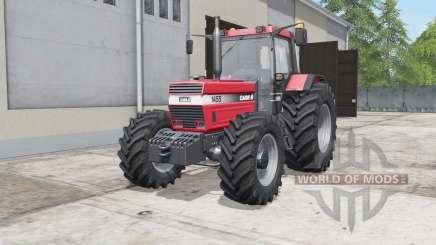 Case IH 1455 XL dual rear wheels para Farming Simulator 2017