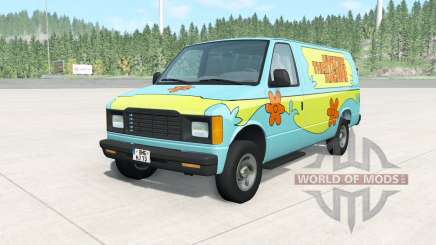 Gavril H-Series The Mystery Machine para BeamNG Drive