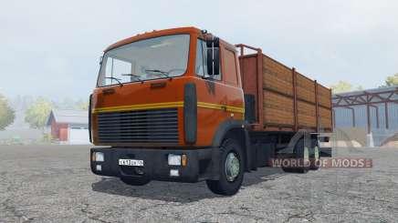 MAZ-6303 con remolque para Farming Simulator 2013