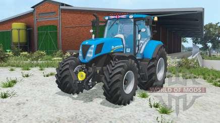 New Holland T7.170 rich electric blue para Farming Simulator 2015