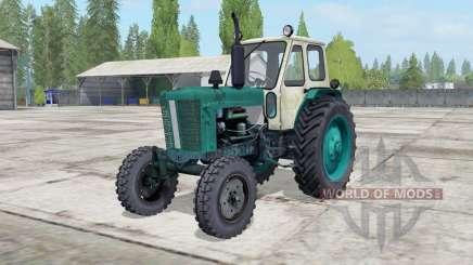 YUMZ-6L color verde pino para Farming Simulator 2017