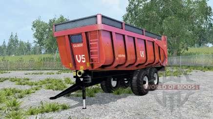 Gilibert 1800 Pro carmine pink para Farming Simulator 2015