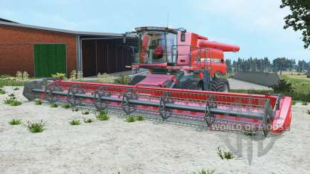 Case IH Axial-Flow 9230 deep carmine pink para Farming Simulator 2015