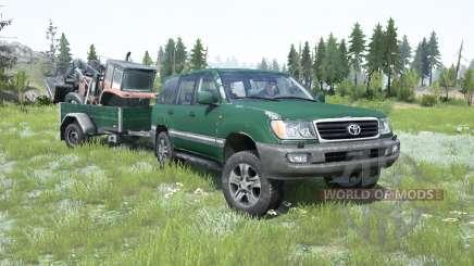 Toyota Land Cruiser 100 VX 2005 para MudRunner