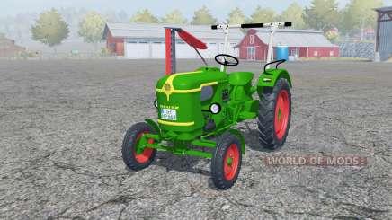 Deutz D 25 with cutter bar para Farming Simulator 2013