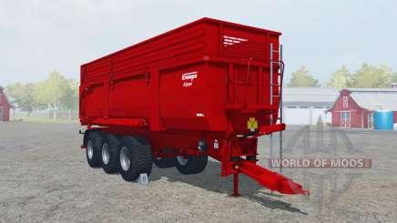 Krampe Big Body 900 S boston university red para Farming Simulator 2013