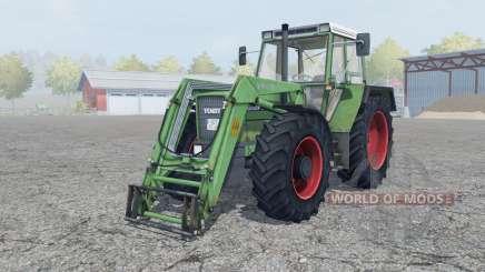 Fendt Favorit 611 LSA Turbomatik E para Farming Simulator 2013