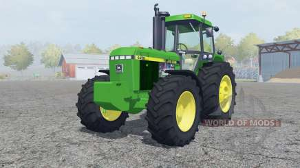John Deere 4455 add weights para Farming Simulator 2013