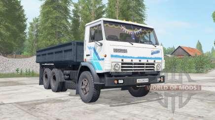 KamAZ-5320 oscuro ninasimone-cuerpo azul para Farming Simulator 2017