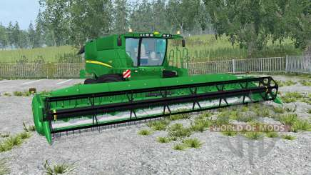 John Deere S690i north texas green para Farming Simulator 2015