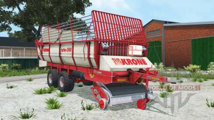 Krone Turbo 3500 alizarin crimson para Farming Simulator 2015