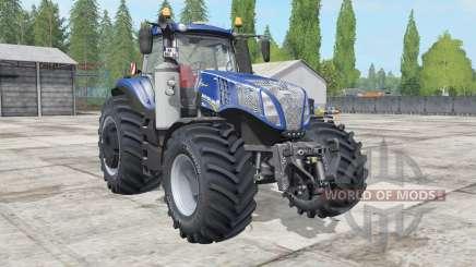 New Holland T8.320-435 Blue Power para Farming Simulator 2017