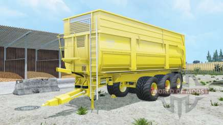 Krampe Big Body 900 S peridot para Farming Simulator 2015