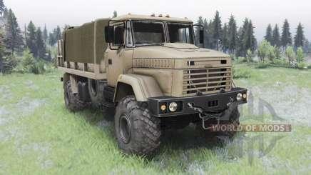 KrAZ-5131 para Spin Tires