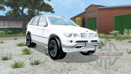 BMW X5 4.8is (E53) 2004 para Farming Simulator 2015