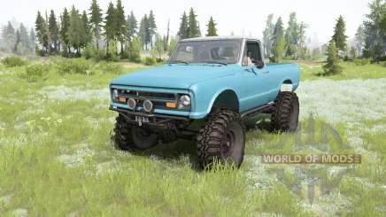 Chevrolet K10 1967 para MudRunner