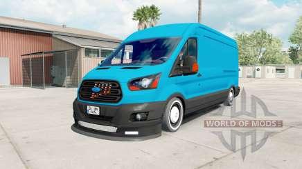 Ford Transit Jumbo Van para American Truck Simulator