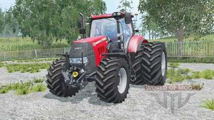 Case IH Puma 165 CVX added wheels para Farming Simulator 2015
