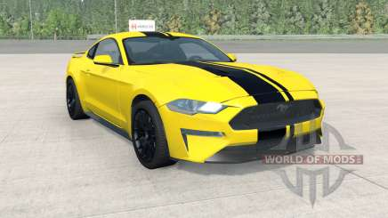 Ford Mustang EcoBoost Performance 2018 para BeamNG Drive