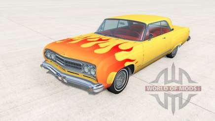 Gavril Bluebuck colorable gradiant flames para BeamNG Drive