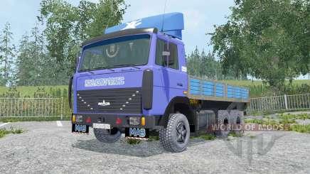 MAZ-6303 módulos extraíbles para Farming Simulator 2015