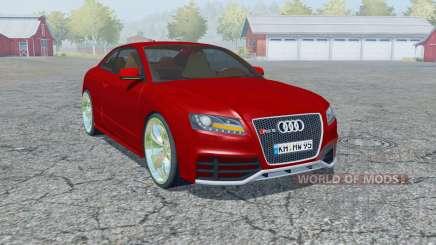 Audi RS 5 coupe 2010 para Farming Simulator 2013