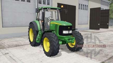 John Deere 6000&7000-series para Farming Simulator 2017