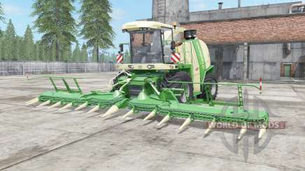 Krone BiG X 1100 chateau green para Farming Simulator 2017