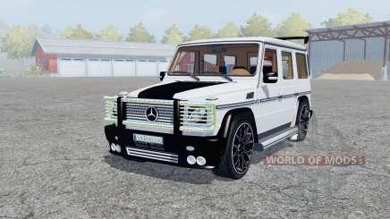 Mercedes-AMG G 65 (W463) para Farming Simulator 2013