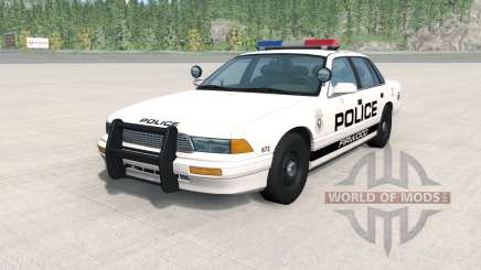 Gavril Grand Marshall Firwood Police para BeamNG Drive