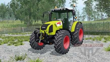 Claas Axos 330 río grandᶒ para Farming Simulator 2015