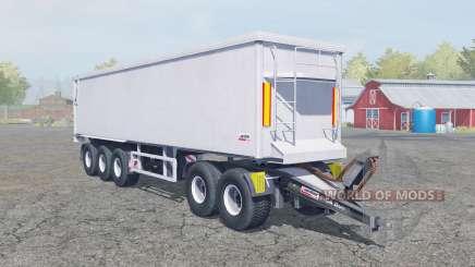 Kroger Agroliner SRB3-35 dolly trailer para Farming Simulator 2013