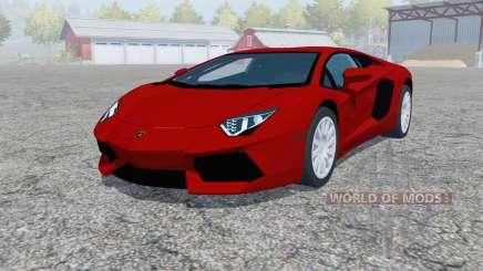 Lamborghini Aventador LP 700-4 (LB834) 2011 para Farming Simulator 2013