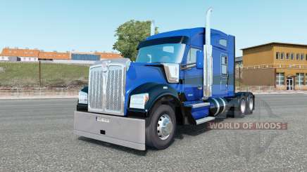 Kenworth W990 Mid-Roof Aerodyne Sleeper para Euro Truck Simulator 2