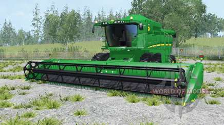 John Deere S550 north texas green para Farming Simulator 2015