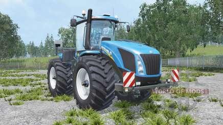 New Holland T9.560 real engine para Farming Simulator 2015