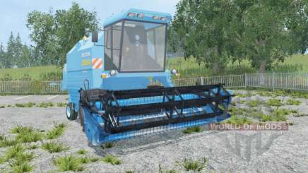 Bizon Rekord Z058 blue jeans para Farming Simulator 2015