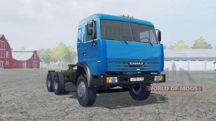 KamAZ-54115 color azul para Farming Simulator 2013