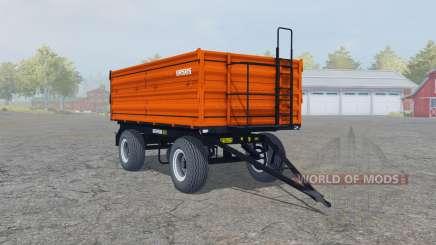 Ursus T-670-A1 vivid orange para Farming Simulator 2013