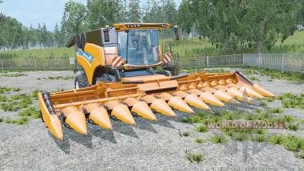 New Holland CR10.90 tres cutteᶉs para Farming Simulator 2015