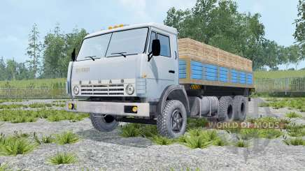 KamAZ 55102 con un remolque para Farming Simulator 2015