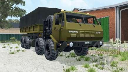 KrAZ-7E-6316 8x8 Siberia para Farming Simulator 2015