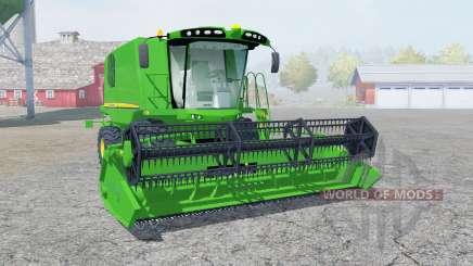 John Deere W540 pantone green para Farming Simulator 2013